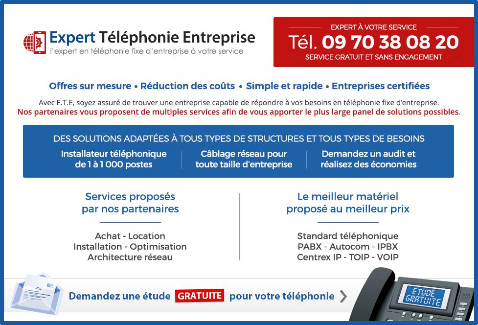 Etude gratuite pour la location, achat, installation ou optimisation de votre téléphonie d'entreprise